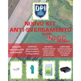 KIT ANTI - SVERSAMENTO...